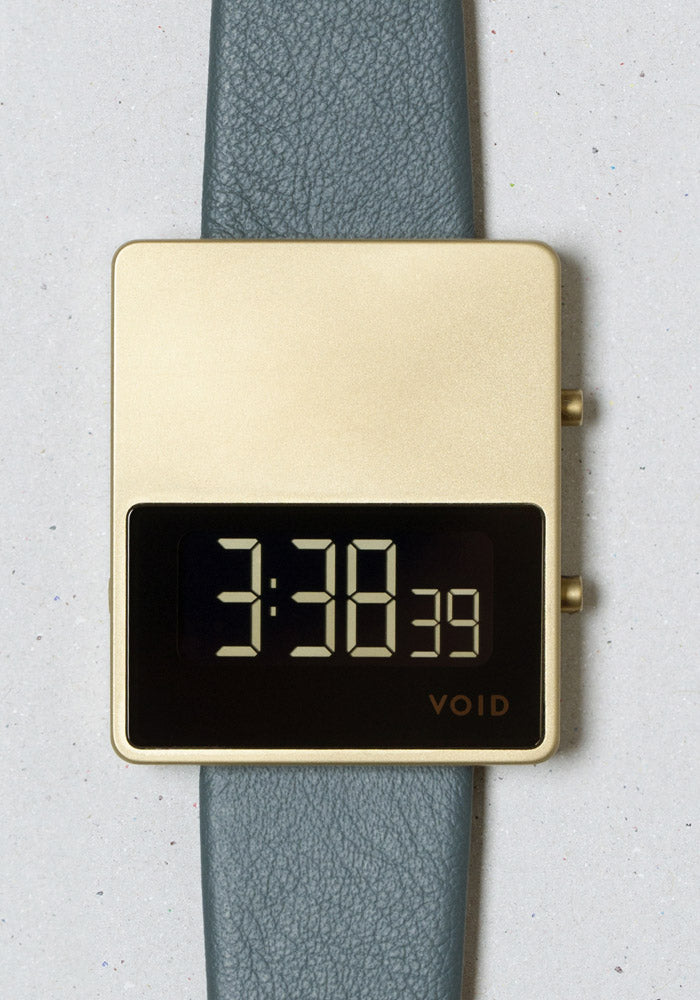 The V01MKII-GO/SR from VOID Watches, designed by David Ericsson.