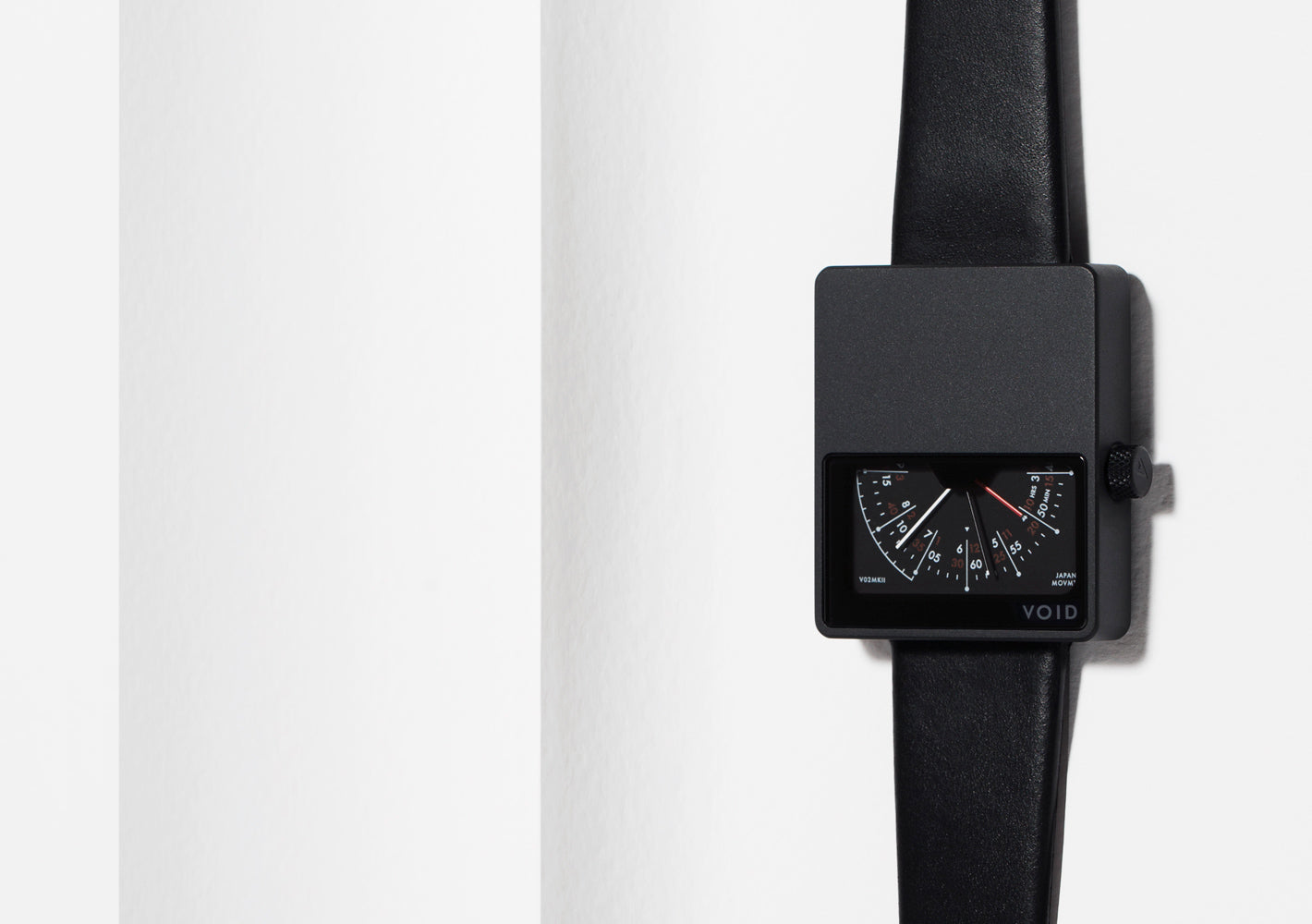 The V02MKII-BL/BL from VOID Watches, designed by David Ericsson.