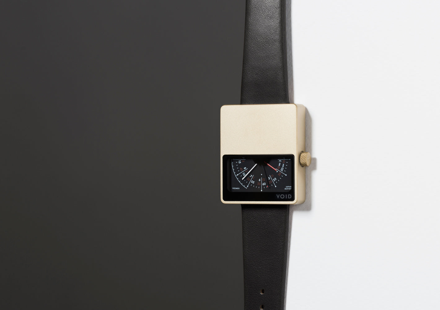 The V02MKII-GO/BL from VOID Watches, designed by David Ericsson.