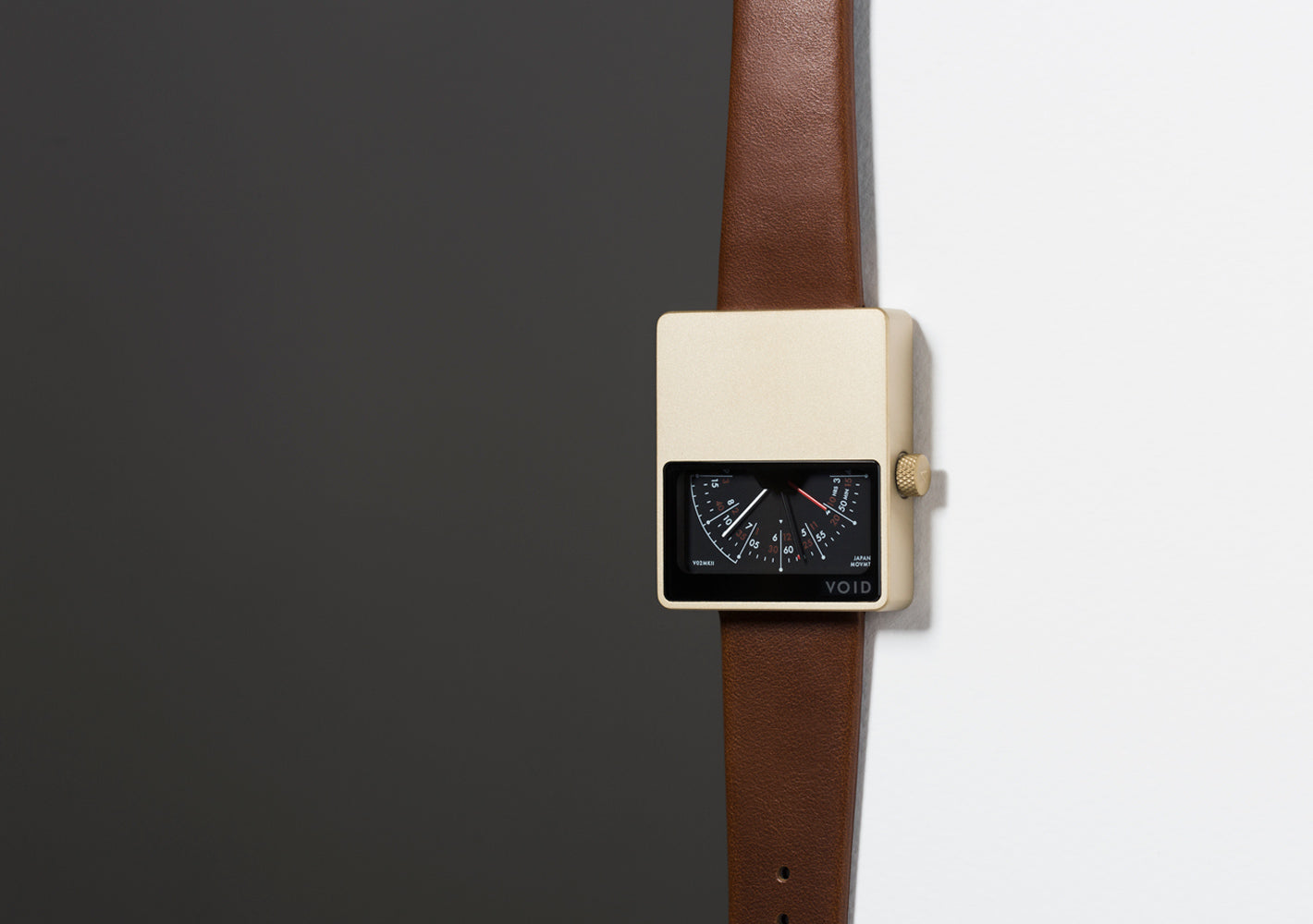 The V02MKII-GO/LB from VOID Watches, designed by David Ericsson.
