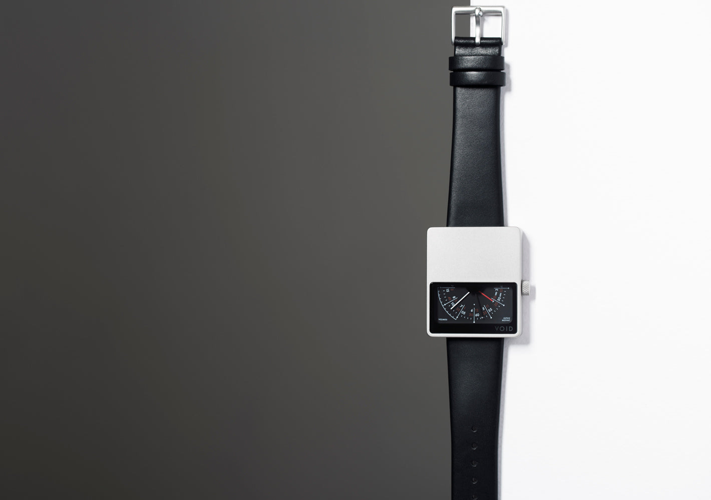 The V02MKII-SI/BL from VOID Watches, designed by David Ericsson.