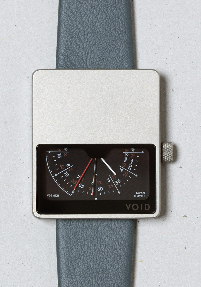 The V02MKII-SI/SR from VOID Watches, designed by David Ericsson.