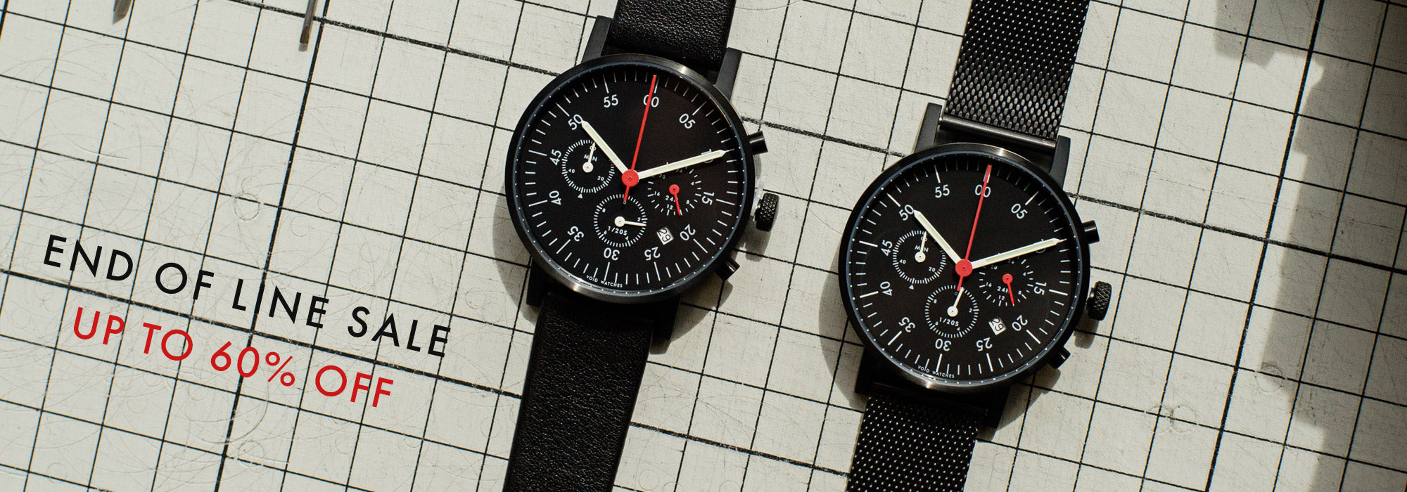 VOID Watches End of Line Sale