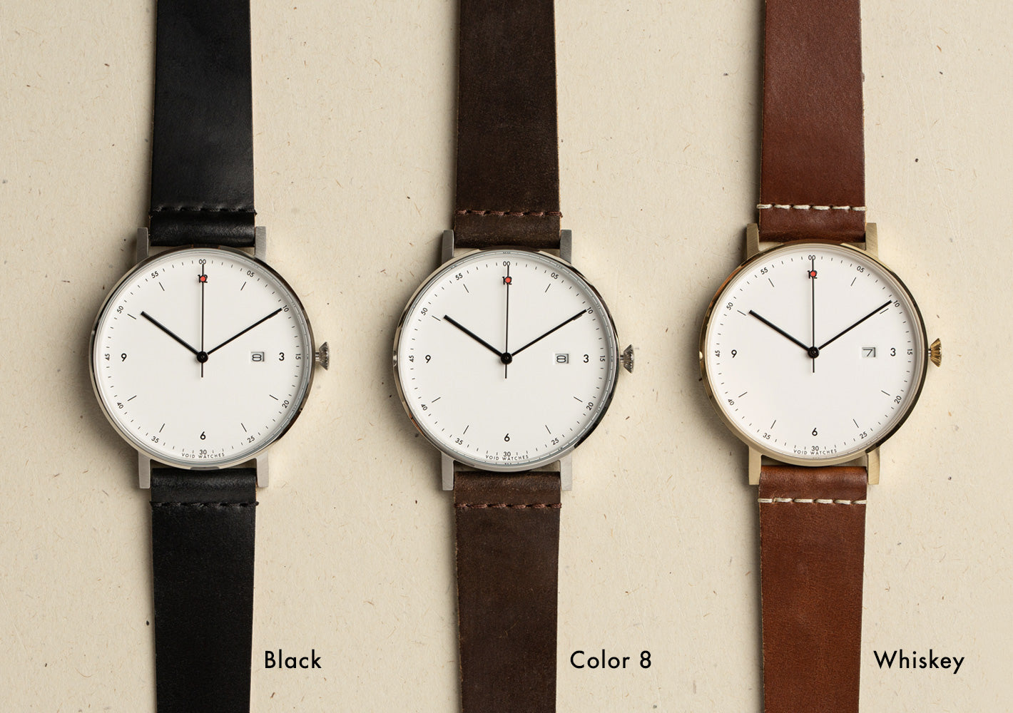 VOID Watches Shell Cordovan Collection