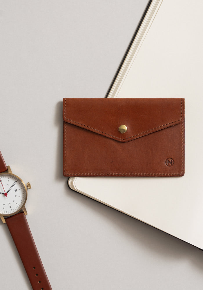 The Cognat Nimrodian Card Case from VOID Watches, designed by David Ericsson.