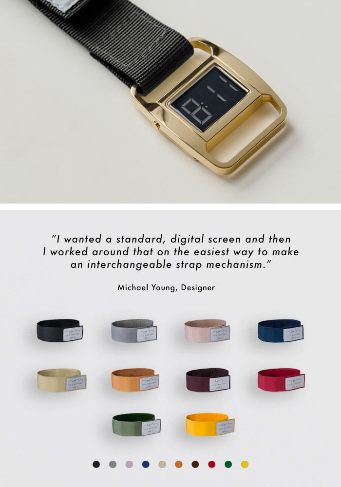 The PXR5-PG/BL from VOID Watches, designed by British Designer Michael Young