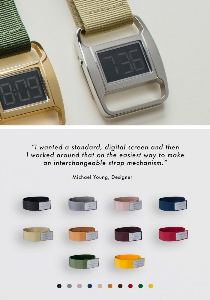 The PXR5-PO/YO from VOID Watches, designed by British Designer Michael Young