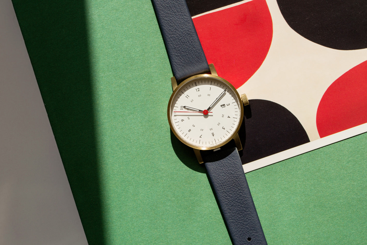 Replacement strap by VOID Watches using Sorensen Leather