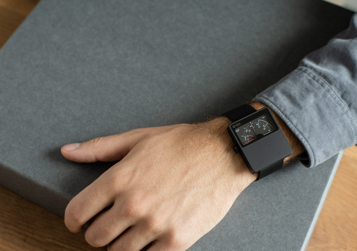 The V02MKII from VOID Watches, designed by David Ericsson.