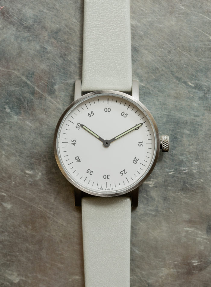 The V03B-BR/GY/WH from VOID Watches, designed by David Ericsson.