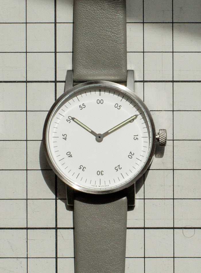 The V03B-BR/MT/WH from VOID Watches, designed by David Ericsson.