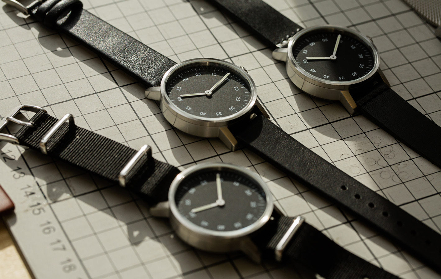 The V03B collection from VOID Watches, designed by David Ericsson.