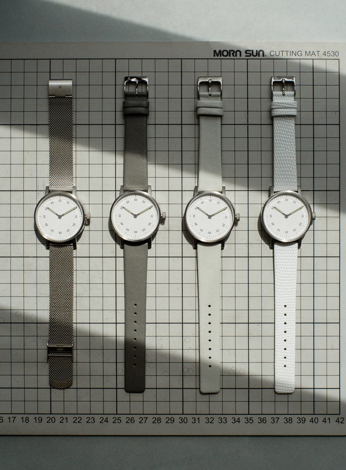 The V03B-BR/MR/WH from VOID Watches, designed by David Ericsson.