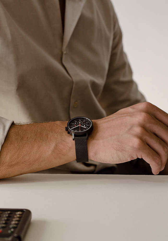 The V03C-BL/BL/BL from VOID Watches, designed by David Ericsson.