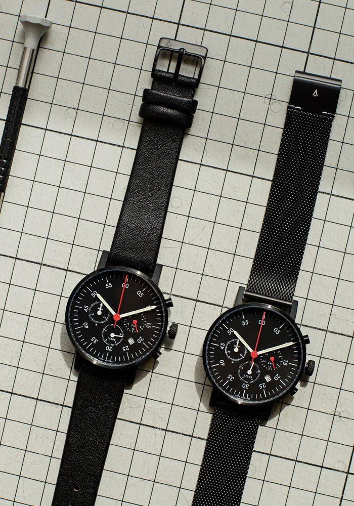 TThe V03C-BL/BL/BL from VOID Watches, designed by David Ericsson.