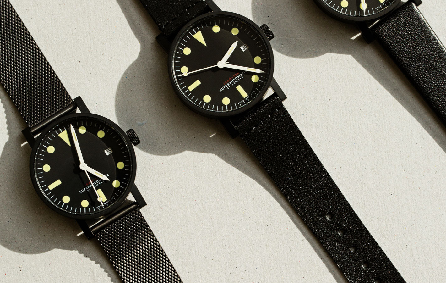 The V03M-BL/BL from VOID Watches, designed by David Ericsson.