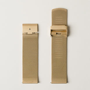22mm Milanese Bracelet - Gold