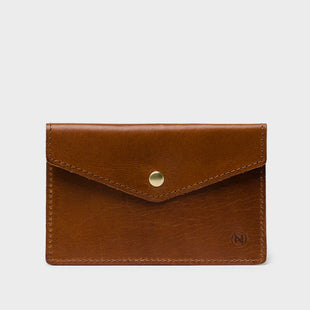 Card Case: Cognac