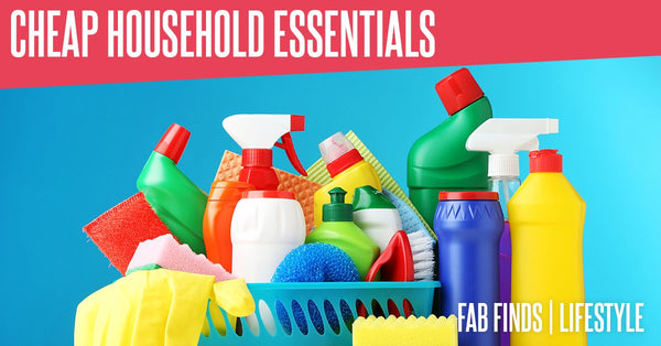 Cheap Household Essentials