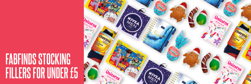 FabFinds Stocking Fillers for Under £5