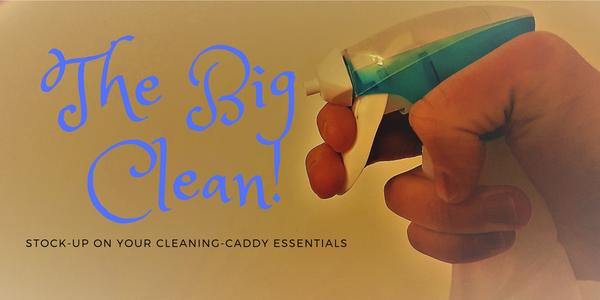 Domestic cleaning products essentials