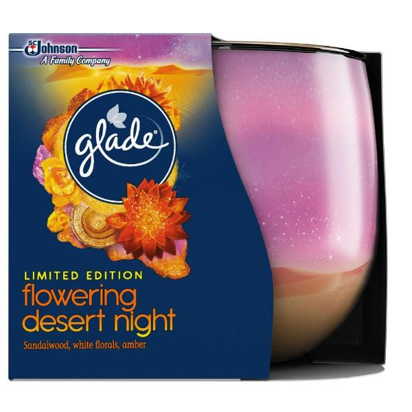 Glade Candle Flowering Desert Night 120g - FabFinds