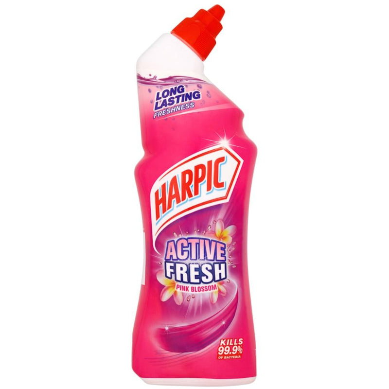 Harpic Active Fresh Toilet Cleaner Gel Pink Blossom 750ml - FabFinds