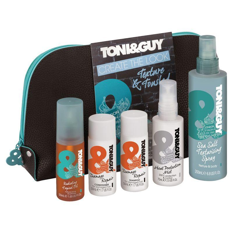 Tony & Guy Create the Look Texture & Tousled Hair Care Wash Bag - FabFinds