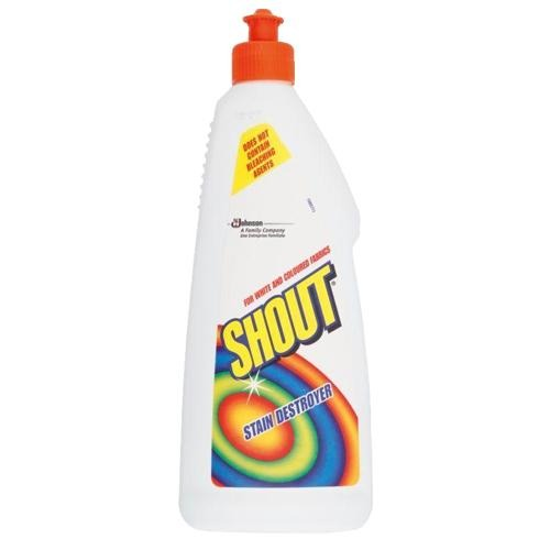 Mr Muscle Shout Stain Remover 500ml - FabFinds