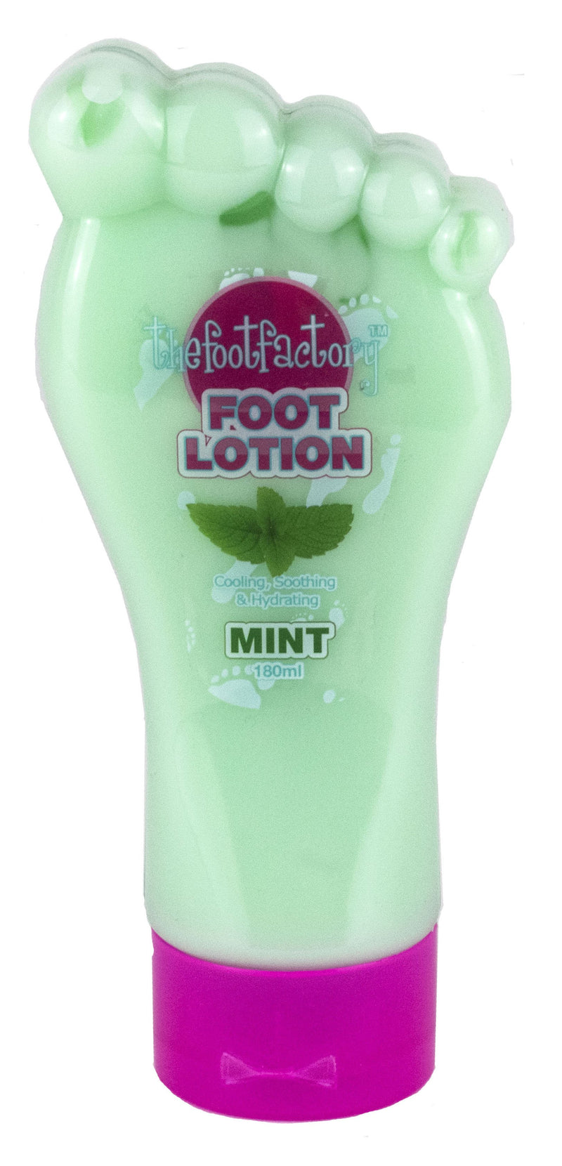 The Foot Factory Foot Lotion Peppermint 180ml - FabFinds