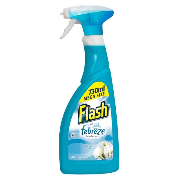 Flash Febreze Freshness Cotton Fresh Multipurpose Cleaner Spray 730ml - FabFinds