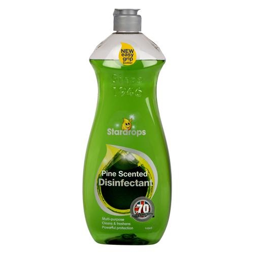 Stardrops Pine Scented Disinfectant Bottle 750ml