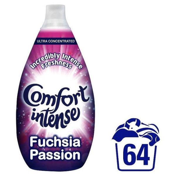Comfort Intense Fabric Conditioner Fuchsia Passion 960ml 64 Washes - FabFinds