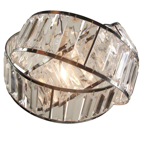 Crystal 3 Tier Interlocking Lamp Shade 30cm