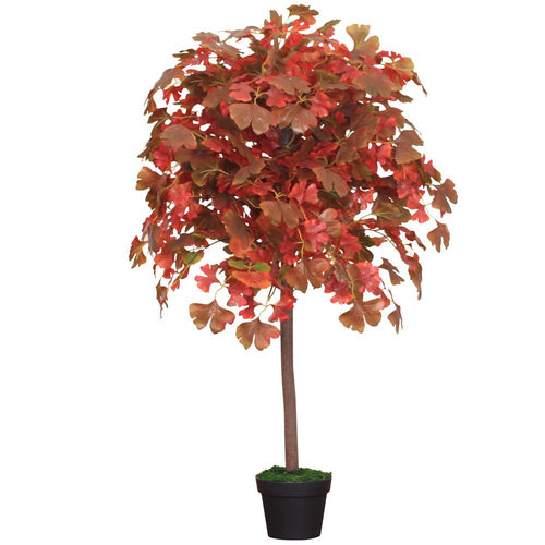 Artificial Gingko Tree Large Indoor Outdoor 120cm (4ft)