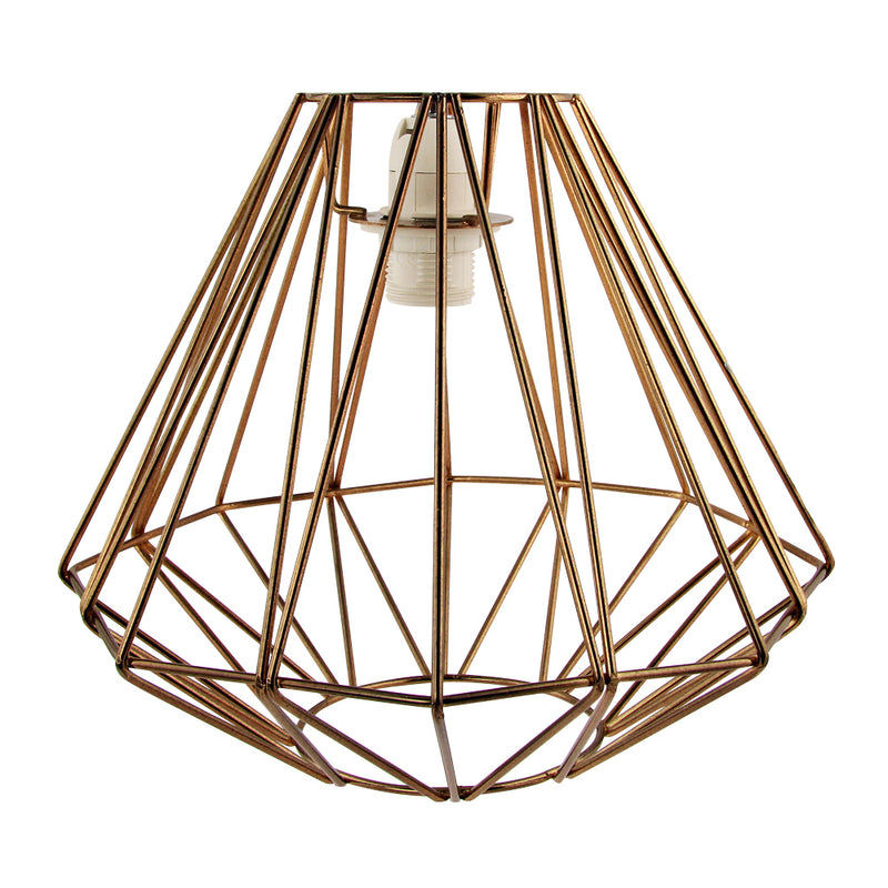 Wire Metal Pendant Light Shade - FabFinds