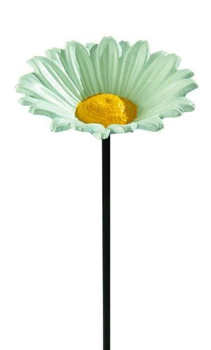 Gardman Bird Feeder Dish Cast Iron White Daisy