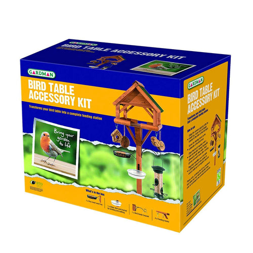 Gardman Wild Bird Table Accessory Set Feeder Kit