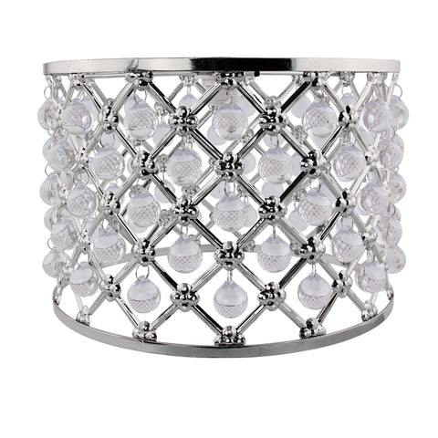 Metal Lattice Pattern Droplet Light Shade