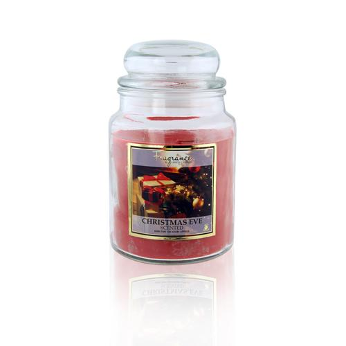 Fragrance Christmas Eve Scented Jar Candle 18oz