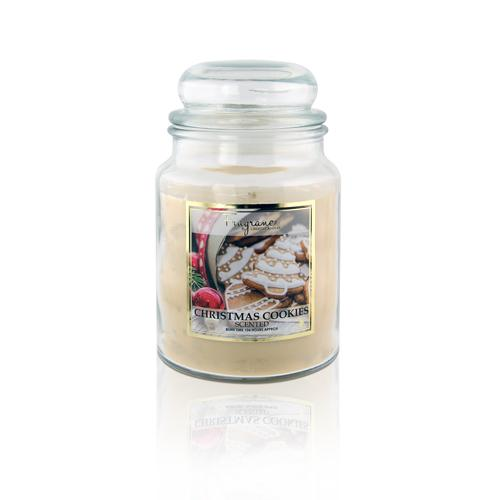 Fragrance Christmas Cookies Scented Jar Candle 18oz
