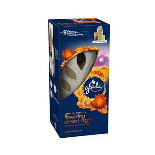 Glade Automatic Spray Kit Air Freshener Flowering Desert Night
