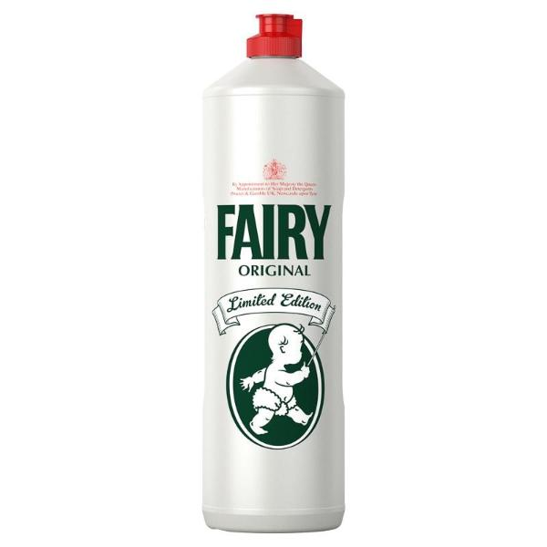 Fairy Heritage Limited Edition Washing Up Liquid 1ltr - FabFinds