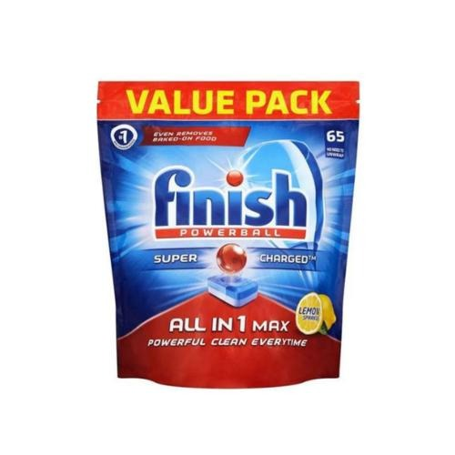 Finish Powerball All In 1 Max Lemon Tablet 65 - FabFinds