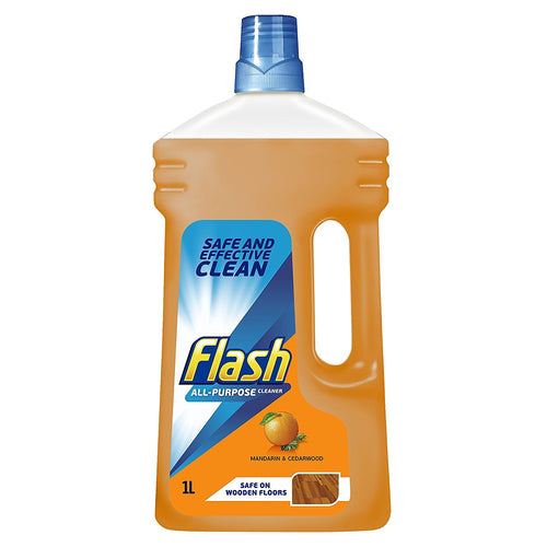 Flash Mandarin and Cedarwood All Purpose Cleaner 1 Litre