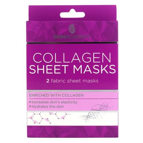 Skin Academy Collagen Fabric Sheet Face Mask