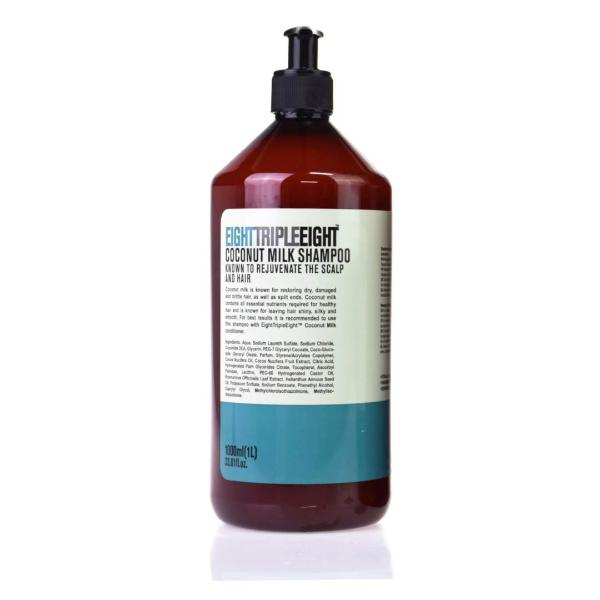 Eight Triple Eight Coconut Milk Hair Shampoo 1L - FabFinds