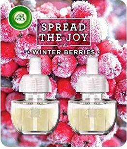 Air Wick Winter Berries Plug-In Refill Twin Pack 19 ml - FabFinds