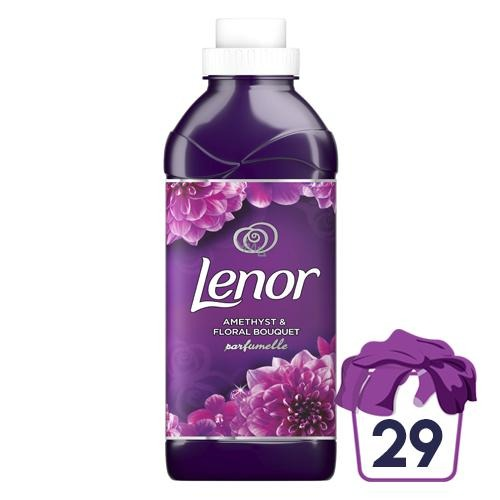 Lenor Amethyst & Floral Bouquet Fabric Conditioner 29W