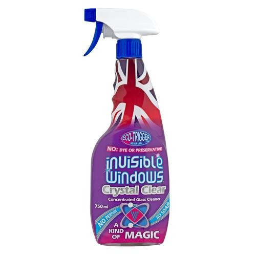 Aristowax Invisible Windows Glass Cleaner Spray 750ml